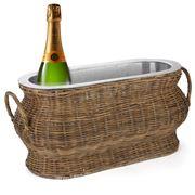 OneWorld - Rattan Wine Cooler Basket
