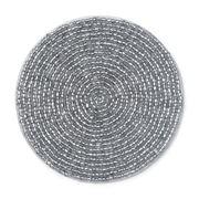 Lintex Linens - Silver Beaded Coaster