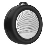 Xoopar - Splash Black Waterproof Bluetooth Speaker