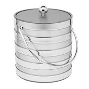 Mr Ice Bucket - Silver Barrel Ice Bucket