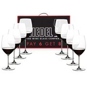 Riedel - Veritas Cabernet/Merlot Pay 6 Get 8 Pack