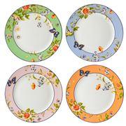 Aynsley - Windsor Cottage Garden Plate Set 4pce