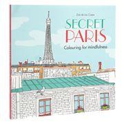 Book - Secret Paris: Colouring For Mindfulness
