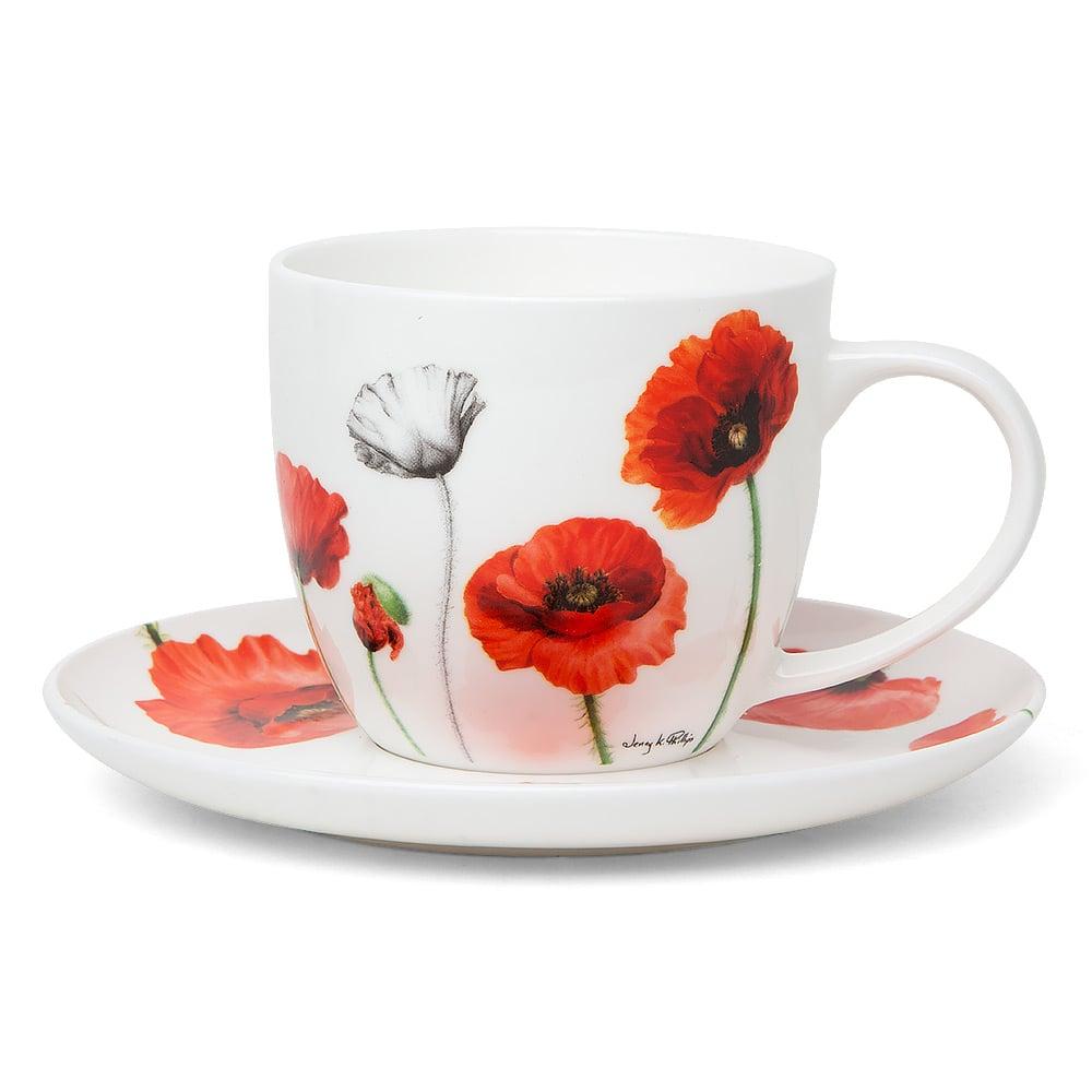 84aae41594 Ashdene - Poppies Teacup & Saucer | Peter's of Kensington