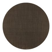 Chilewich - Basketweave Chestnut Round Placemat