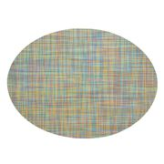 Chilewich - Mini Basketweave Oval Garden Placemat