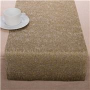 Chilewich - Metallic Lace Gold Table Runner