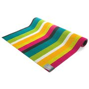 Chilewich - Bold Stripe Multicolour Indoor/Outdoor Mat Large