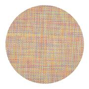 Chilewich - Basketweave Round Crayon Placemat
