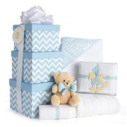 Boz Baby - Chevron Blue Baby Hamper