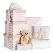 Boz Baby - Chevron Pink Baby Hamper