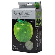 Games - 3D Crystal Jigsaw Puzzle Green Apple