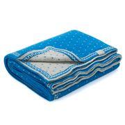 D Lux - Misty Royal Cotton Bassinet Blanket
