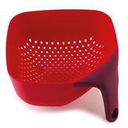 Joseph Joseph - Square Colander Medium Red
