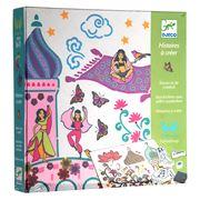 Djeco - Scheherazade's Tales Stamp Set