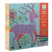 Djeco - Mithila Paper Pattern Rubbing Set