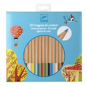 Djeco - Coloured Pencil Set 24pce