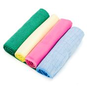 Wool Shop - Home Basics Microfiber Cleaning Cloth Set 4pce