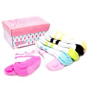 Tippy Toes - Ballerina Sock Set 6pce