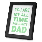 Gobsmacked - Favourite Dad  Frame