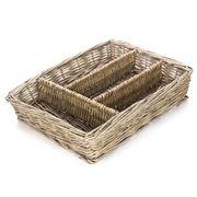 Bullseye - Willow Cutlery Basket
