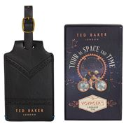 Ted Baker - Voyager's Black Luggage Tag