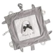 Maud N Lil - Organic Cotton Play Blankie Grey