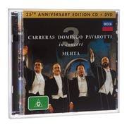 Universal - CD/DVD Three Tenors In Concert 25th Anniversary