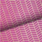Vandoros - Metropolis Ruby Fuchsia and Gold Wrapping Paper