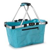 D Line - Shop & Go Teal Carry Basket
