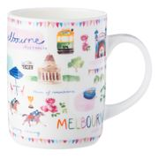 Ashdene - Australia Down Under Melbourne Mug