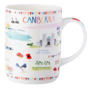 Ashdene - Australia Down Under Canberra Mug