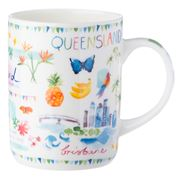 Ashdene - Australia Down Under Queensland Mug