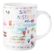 Ashdene - Australia Down Under South Australia Mug