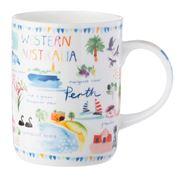 Ashdene - Australia Down Under Western Australia Mug