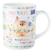 Ashdene - Australia Down Under Australia Mug