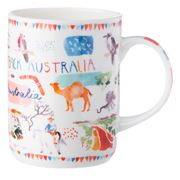 Ashdene - Australia Down Under Outback Mug