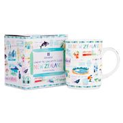 Ashdene - New Zealand Long White Cloud Mug