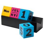 MoMA - Cubes CMYK Perpetual Calendar