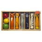 Artiwood - Jungle Animal Skittles Set 9pce