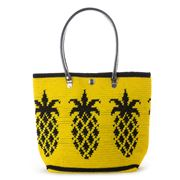 Skipping Girl -  Pineapple Carry All Bag