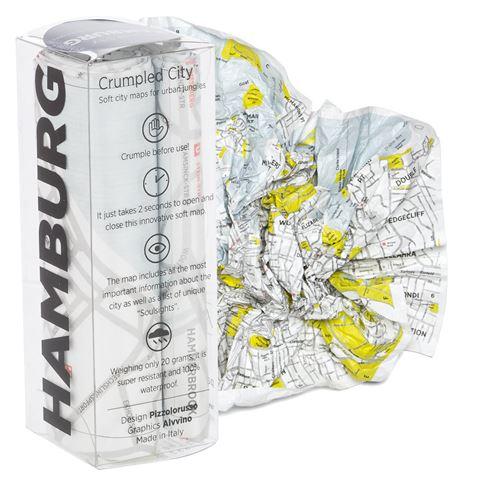 palomar crumpled city map hamburg peter 39 s of kensington. Black Bedroom Furniture Sets. Home Design Ideas