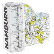 Palomar - Crumpled City Map Hamburg