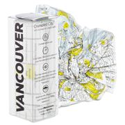 Palomar - Crumpled City Map Vancouver