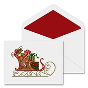Crane & Co - Santa's Sleigh Greeting Cards