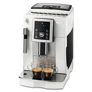 DeLonghi - White Compact Fully Automatic Coffee Machine