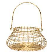 Robert Gordon - Brass Finished Egg Basket