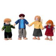 PlanToys - Family Doll Set 4pce