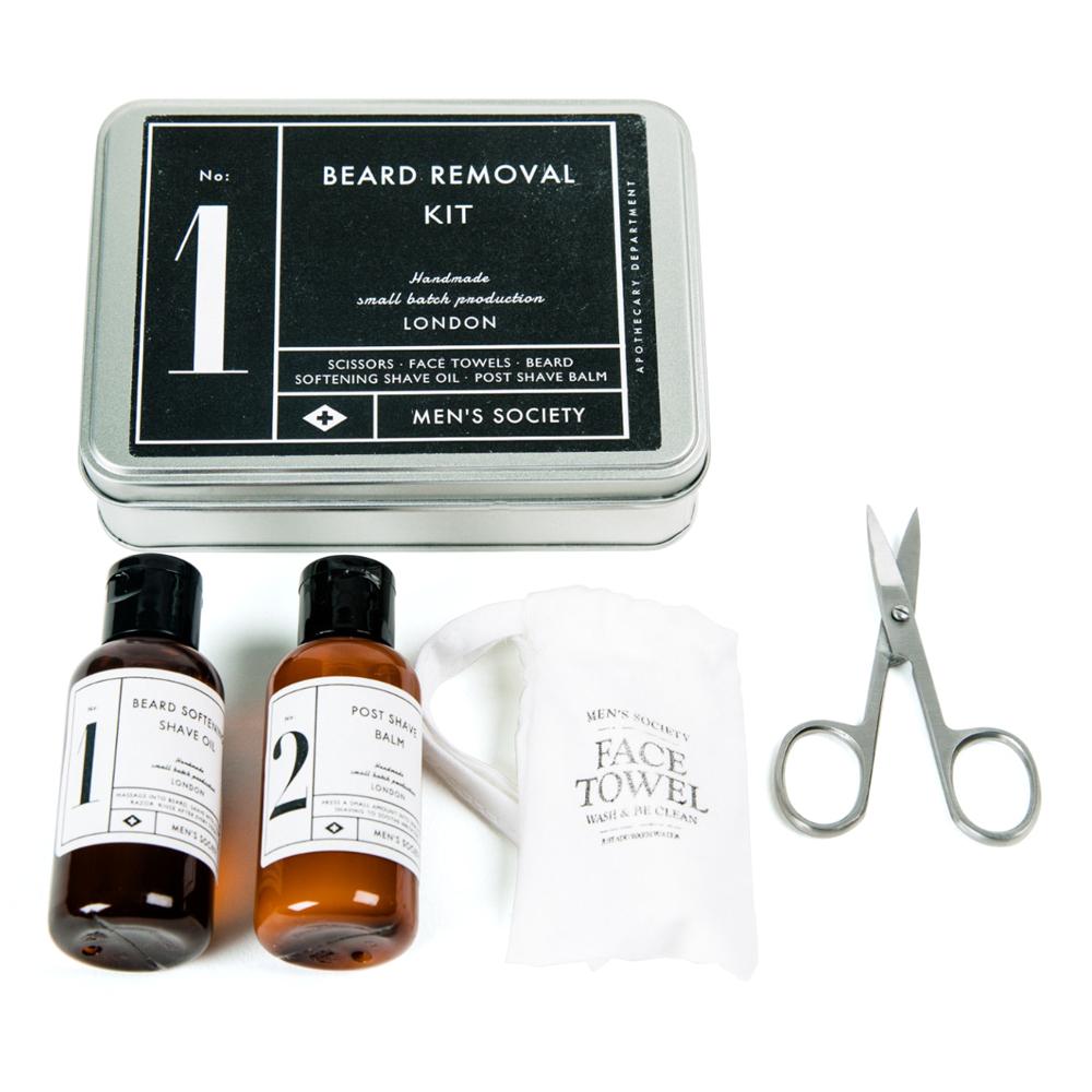 men 39 s society no 1 beard removal kit peter 39 s of kensington. Black Bedroom Furniture Sets. Home Design Ideas