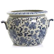 Florabelle - Imperial Flower Pot Blue/White